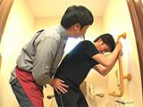 トイレの排泄介護
