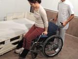 車椅子への移乗