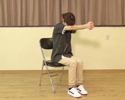 介護後の体操、ストレッチ