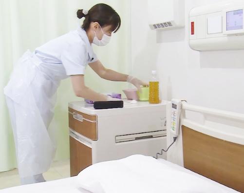 病室環境の調整
