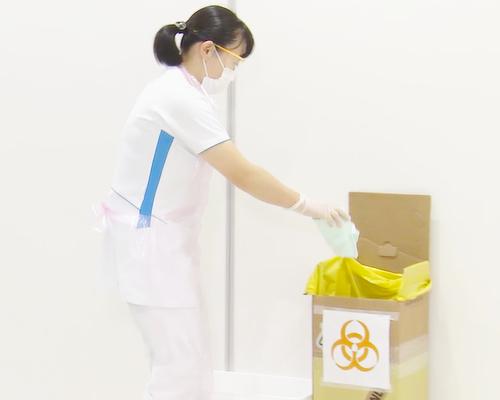 スタンダードプリコーション~廃棄物、鋭利器具の取り扱い~