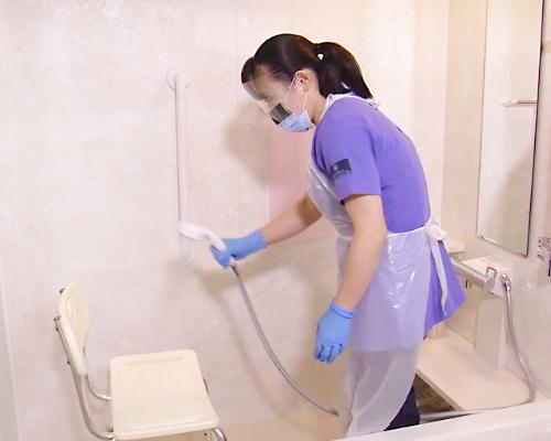 入浴・シャワー浴の介助